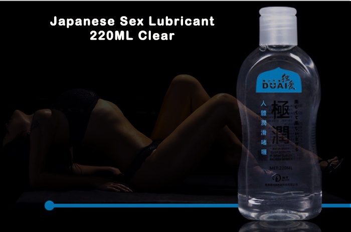 Other forms of lube for sex